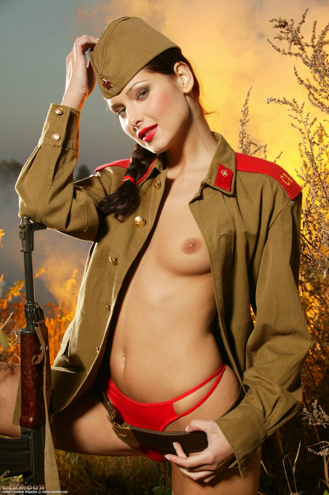 Русское порно в военной форме онлайн 15 фотография